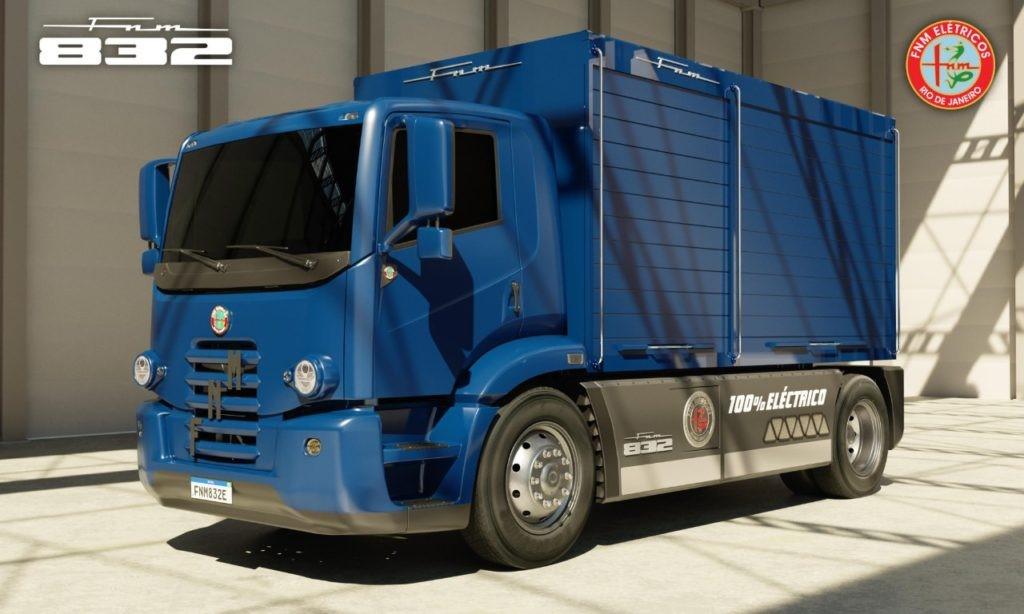 FNM está de volta e fará caminhões elétricos